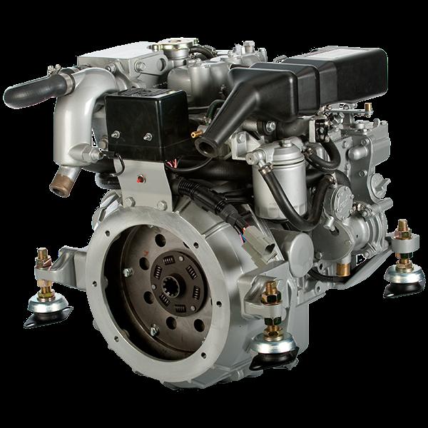 moteur diesel marin craftsman cm 2 16  16cv  avec